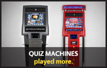 Quiz Machines - played more
